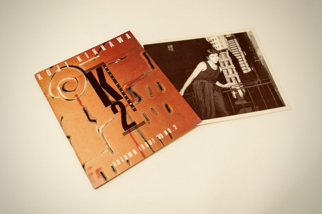 「K2 No.2」と写真カード